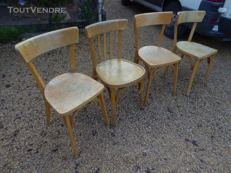 CHAISES BISTROT BOIS ANCIENNE 323342800