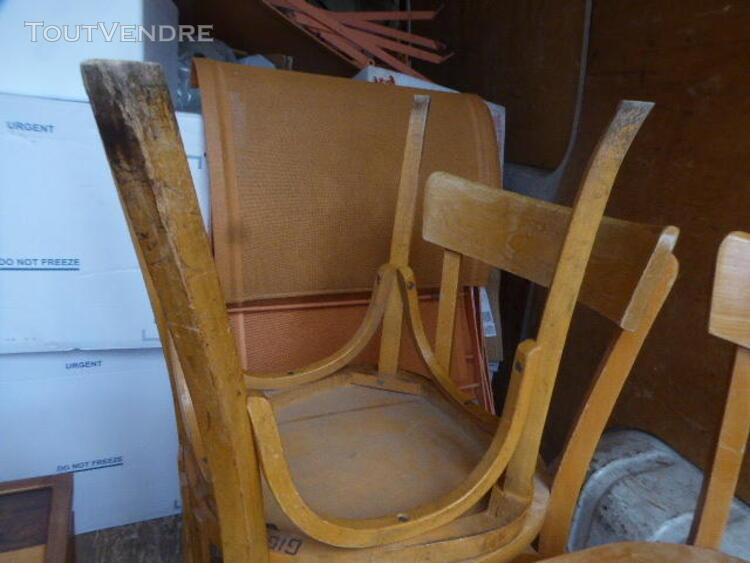 CHAISES BISTROT BOIS ANCIENNE 323342809