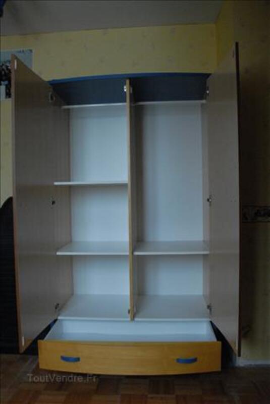Chambre BB : lit, armoire, commode, coffre à jouets 89270018