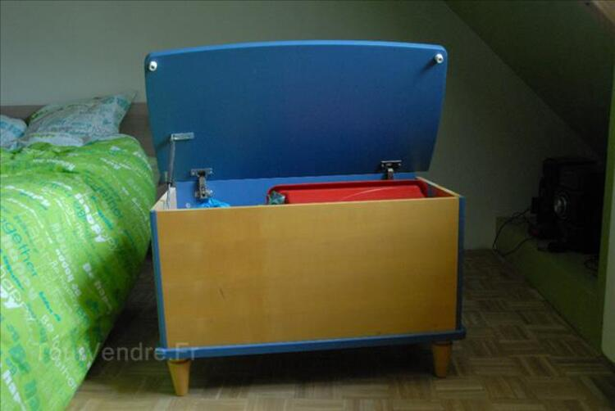 Chambre BB : lit, armoire, commode, coffre à jouets 89270019