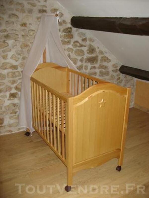 """Chambre bébé Natalys modèle """"étoiles"""" 76152042"""