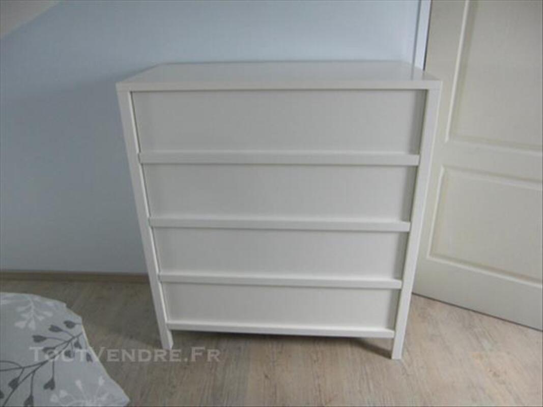 CHAMBRE IKEA couleur blanche état comme neuf 85267756