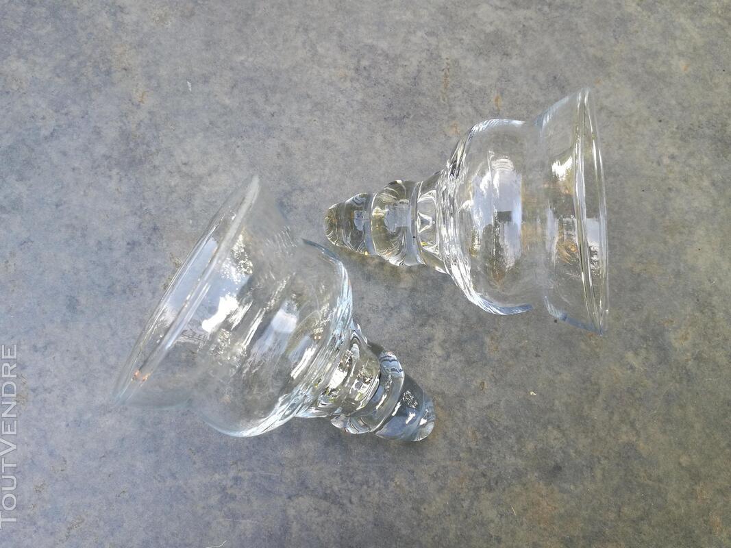 Chandelier Bougeoir Métal / coupelles verre / Tripode suxn 390079917