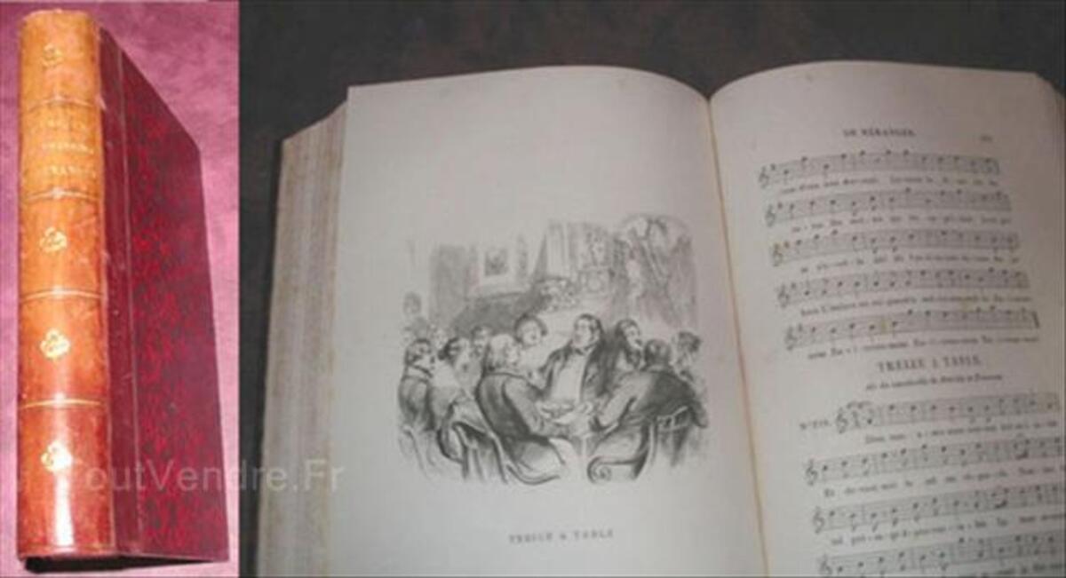 Chansons de BÉRANGER 1856 56034511