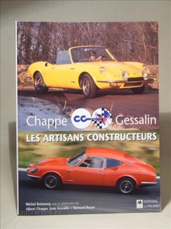 """Chappe-Gessalin"" constructeurs des ""Alpine"" 2+2 & GT4 28270475"