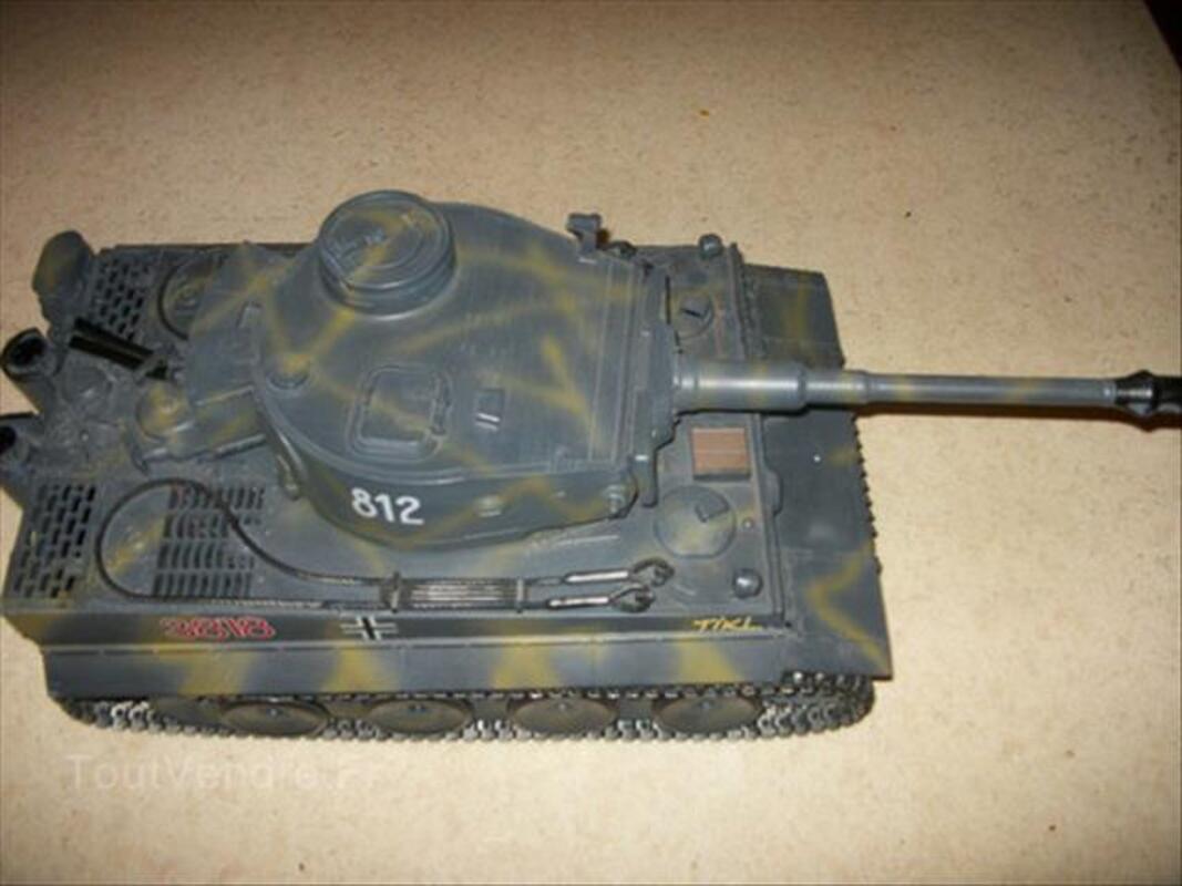 Char German Tiger 1 RC avec son et lumiere plus fumée 88241486