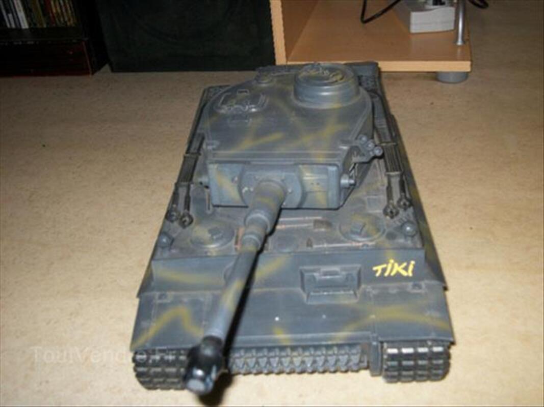 Char German Tiger 1 RC avec son et lumiere plus fumée 88241487