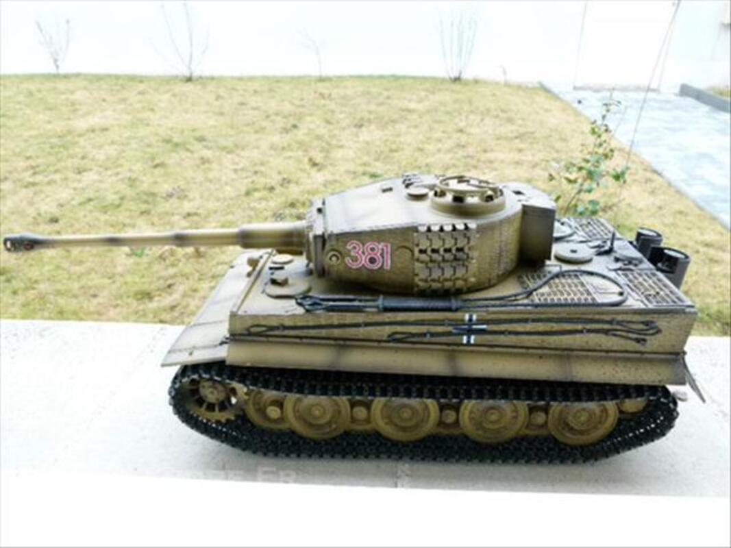 CHAR TIGRE RC 1/16è - Tiger panzer 74027104