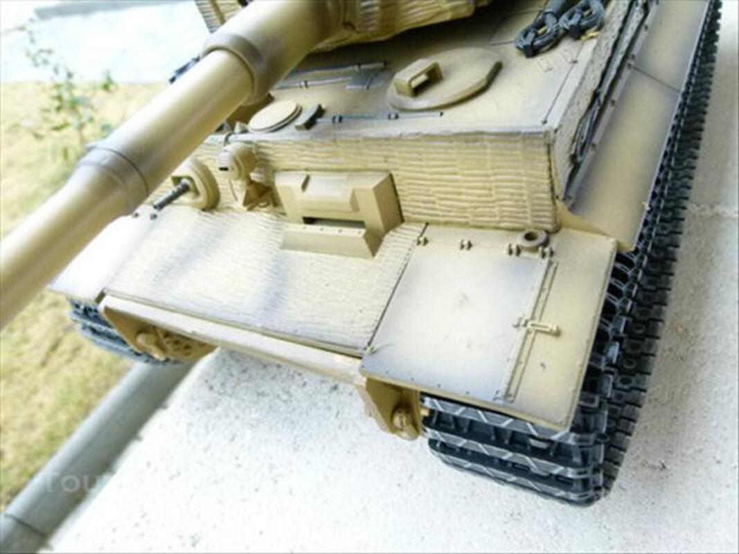 CHAR TIGRE RC 1/16è - Tiger panzer 74027106