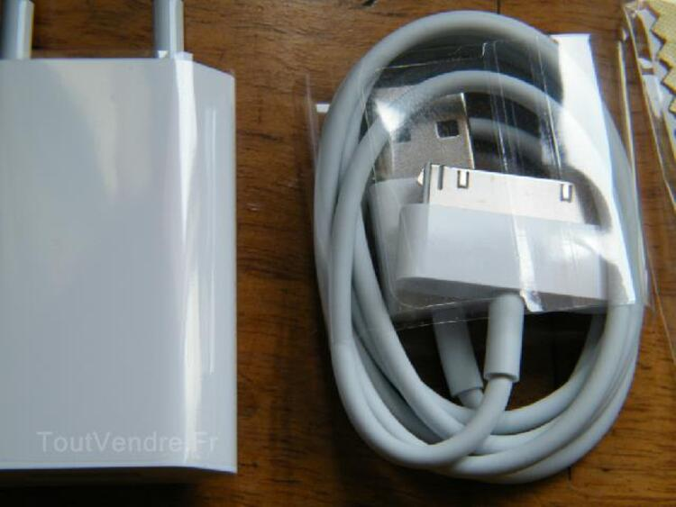 Chargeur Apple Iphone 3G / 4 / 4S NEUF + Bumper 104923663