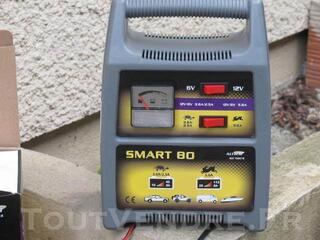 Chargeur batterie  altium smart 80 6/12v  10à112ah