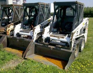 Chargeuse sur pneus BOBCAT S100 - 400KG