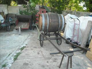 Chariot pour transport de vin