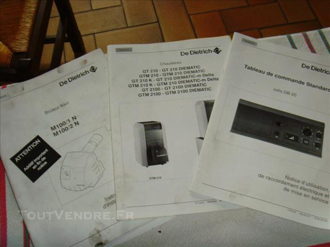 Chaudière DE DIETRICH GT 214 73980793