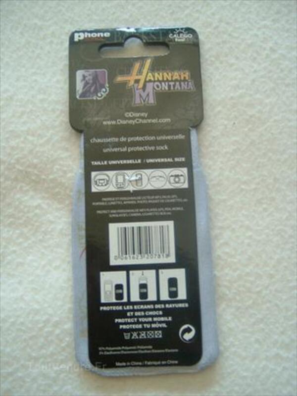 Chaussette pour portable HANNAH MONTANA  Neuve ! 56525608