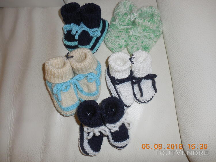 Chaussons 0 - 3 mois 415215815