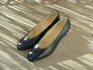 Chaussure femme a talons carré
