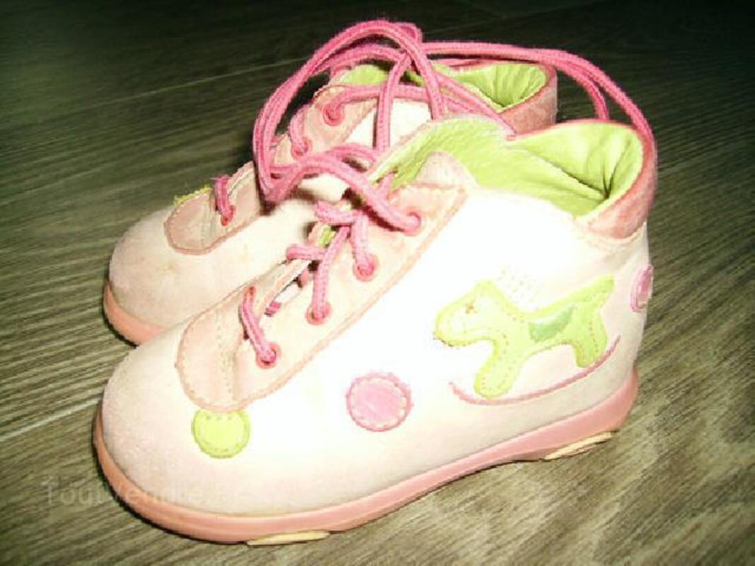 Chaussures bébé fille Orchestra cuir pointure 20 104468413