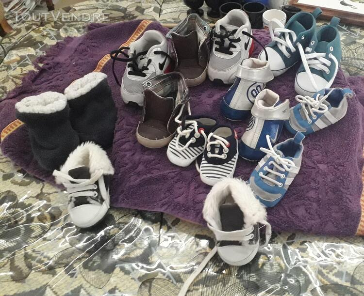 CHAUSSURES BEBE PLUSIEURS TAILLES 690962583