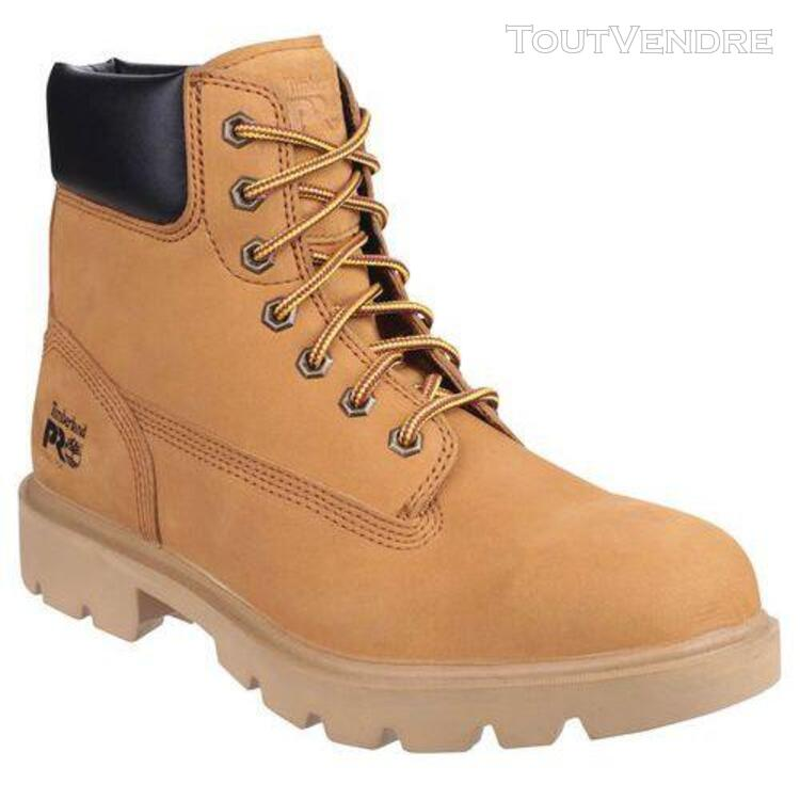 Chaussures de sécurité timberland pro hero wheat src 6p7409 643700493