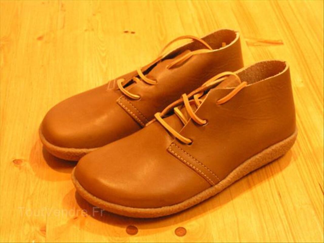 Chaussures en cuir écologique BOSABO  - modèle à lacets 54667748