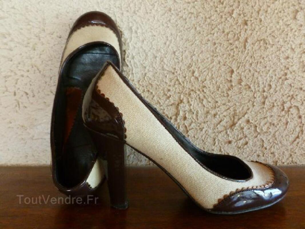 Chaussures femme beige/marron taille 37 96697936