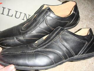 Chaussures Homme Marque GAILLUN en cuir noir Point. 42