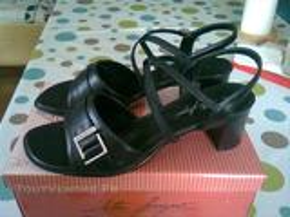 Chaussures noires, pointure 41