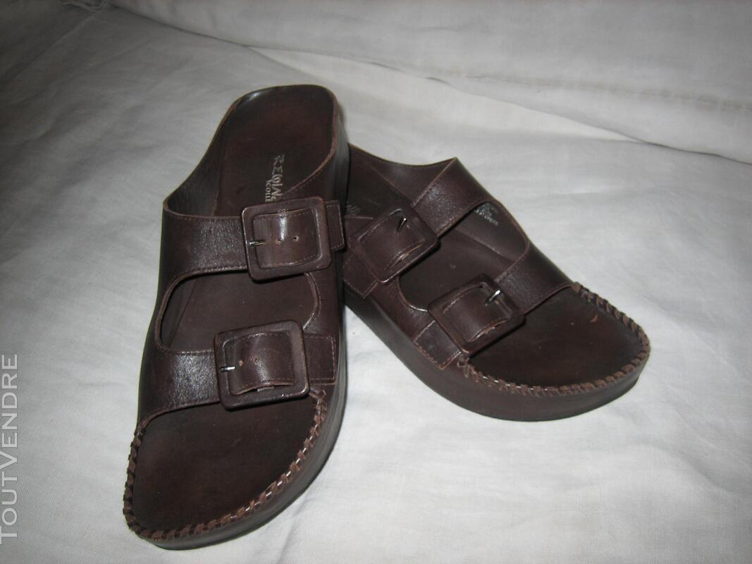 "Chaussures Nu-pieds Marque ""REGINS"" P: 39 NEUVES 574241140"