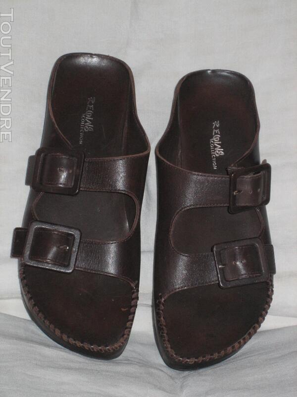 "Chaussures Nu-pieds Marque ""REGINS"" P: 39 NEUVES 574241143"
