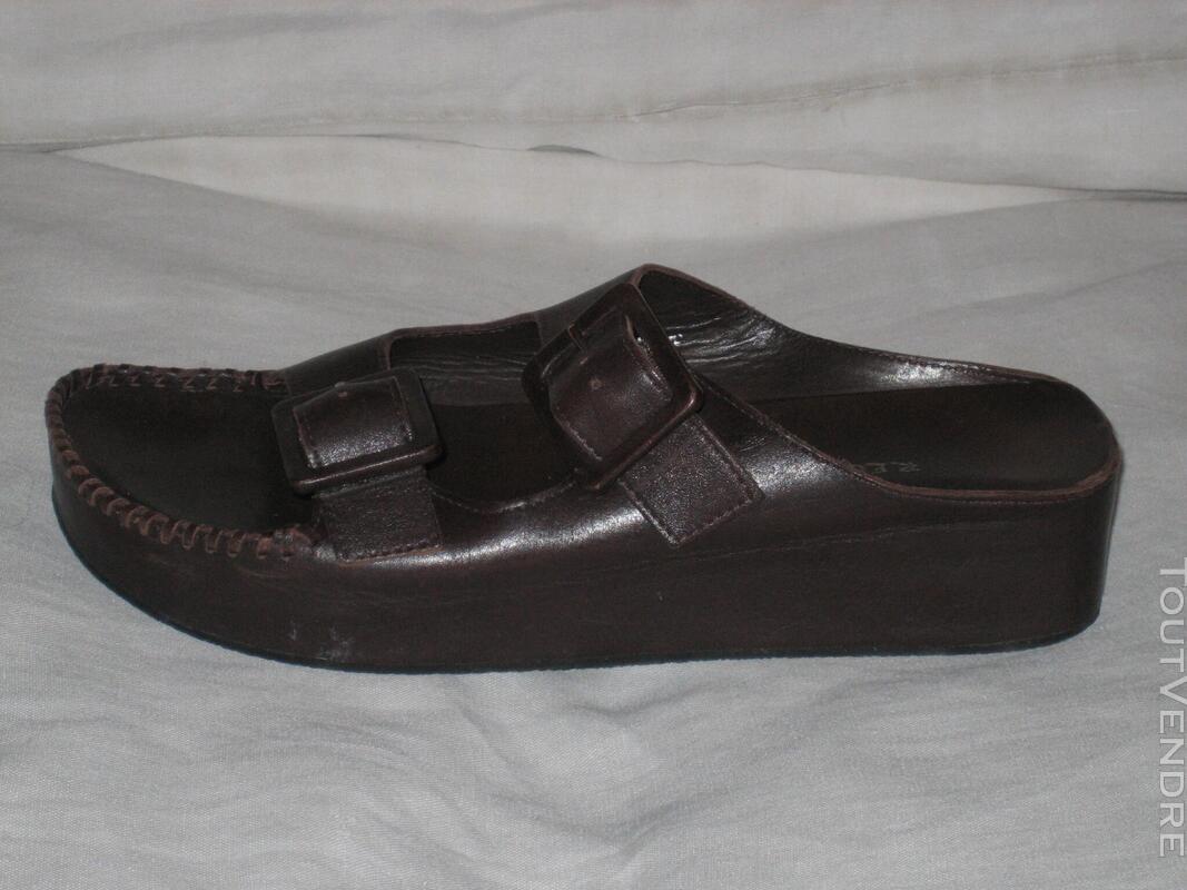 "Chaussures Nu-pieds Marque ""REGINS"" P: 39 NEUVES 574241146"