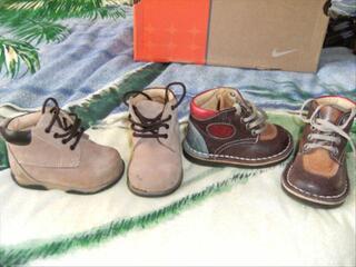 Chaussures, sandales babar, pantoufles (pointure 19)