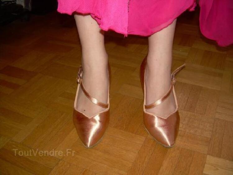 Chaussures strassées danses standards Taille 2 1/2 94109107