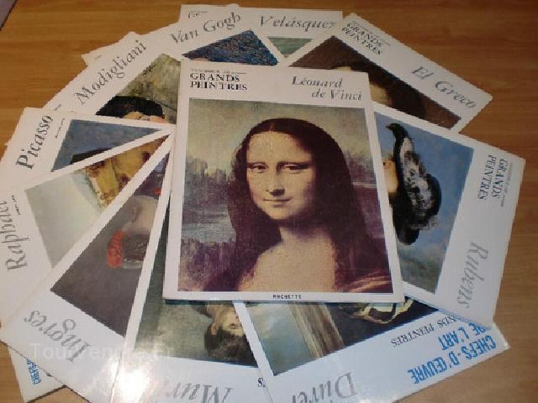 Chefs d'Oeuvre de l'Art. Grands peintres. Hachette 90865707