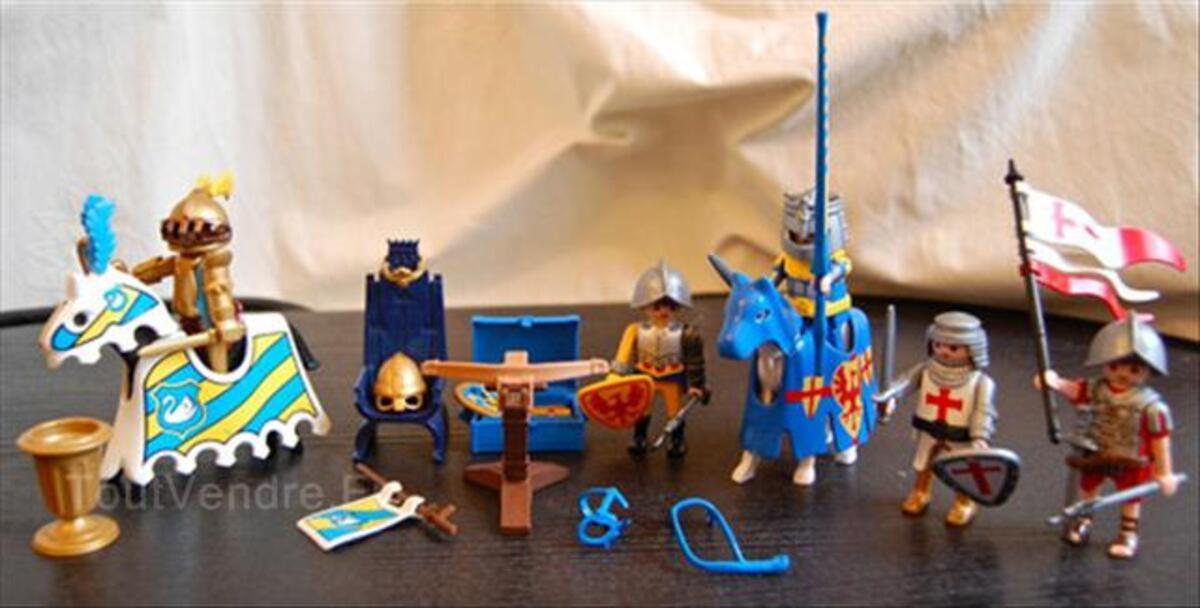 Chevaliers (bons et méchants) & soldats par Playmobil 56431948