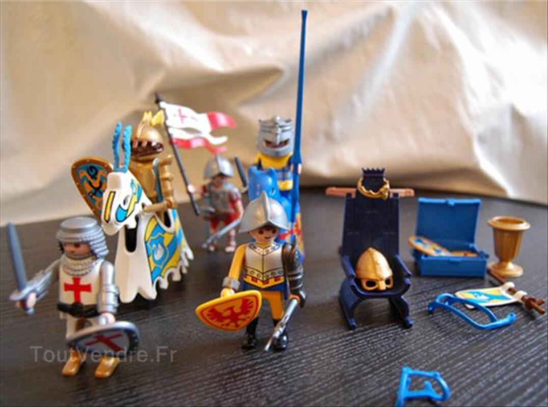 Chevaliers (bons et méchants) & soldats par Playmobil 56431950