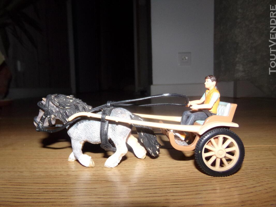 Chevaux (Schleich et Papo) accessoires et véhicules 514655330
