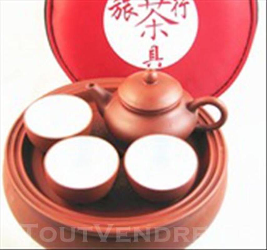Chinese Kung Fu teapot +3 tasse 84776603