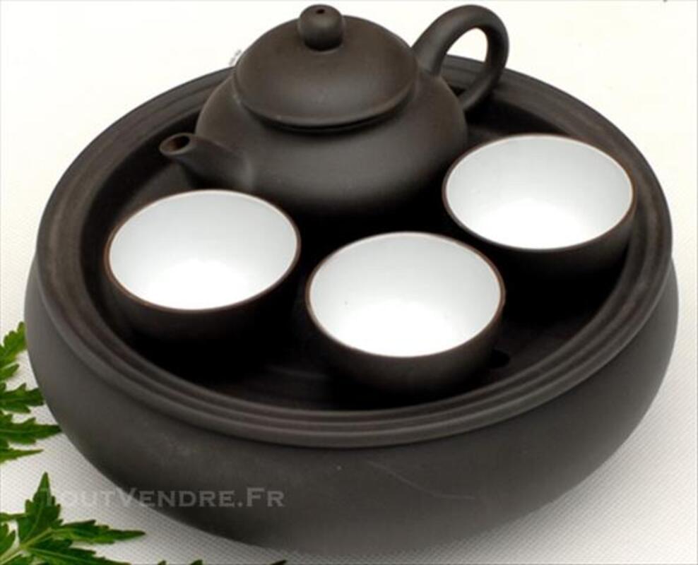 Chinese Kung Fu teapot +3 tasse 84776960