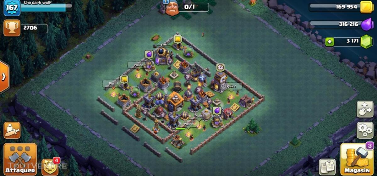 Clash of clan HDV 11 maxé 653330449