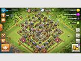 Clash of Clan lvl 154 HDV 11 9500 gemmes