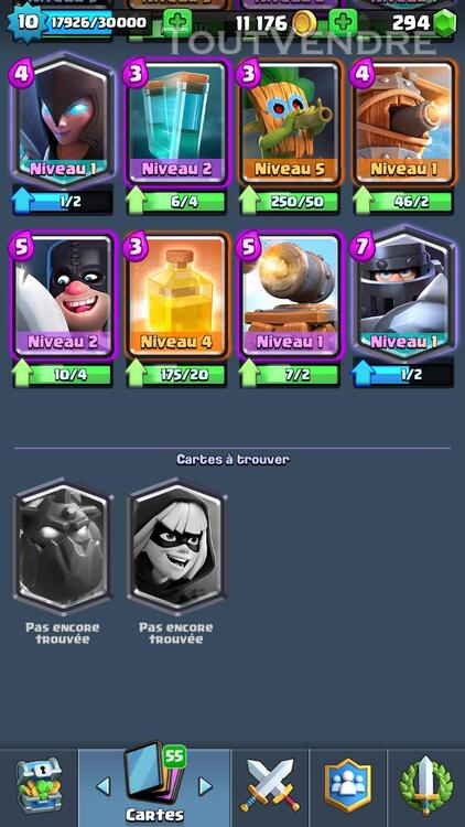 Clash Royale Level 10 Arènes Legendaire 308686261