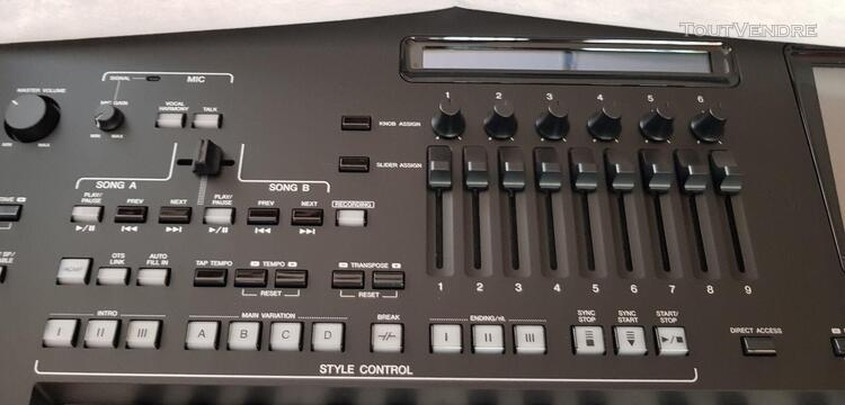 Clavier de poste de travail numérique Yamaha Genos 76 489091367