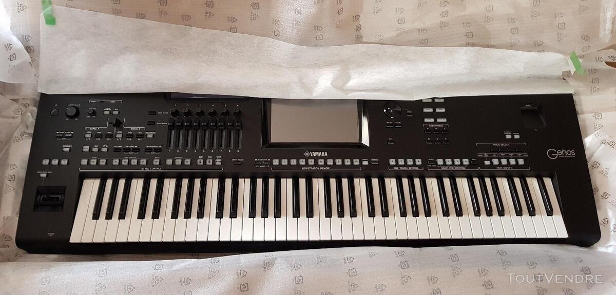 Clavier de poste de travail numérique Yamaha Genos 76 489091370