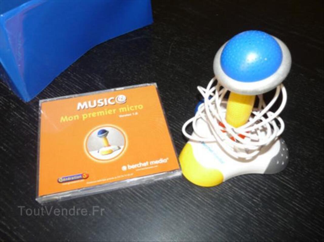 Clavier des bébés Berchet  + micro + 7 CDROMde jeux 56099184