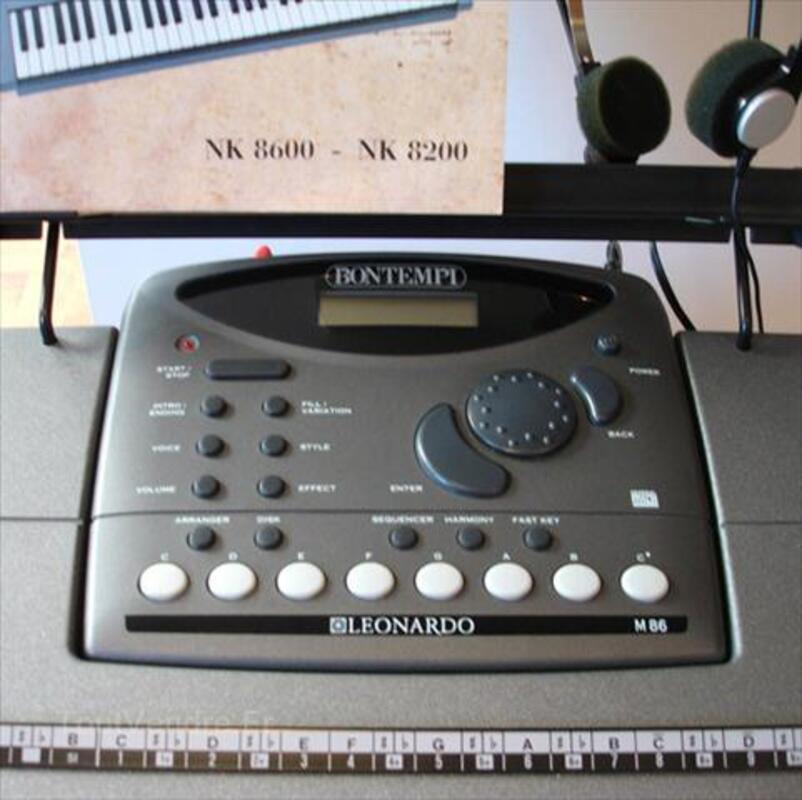 Clavier électronique BONTEMPI LEONARDO 54501841