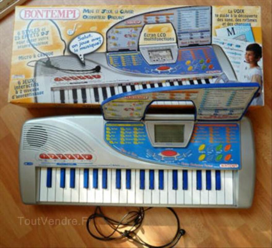 ?? Clavier ordinateur musical parlant  BONTEMPI 65cm ?? 56438777