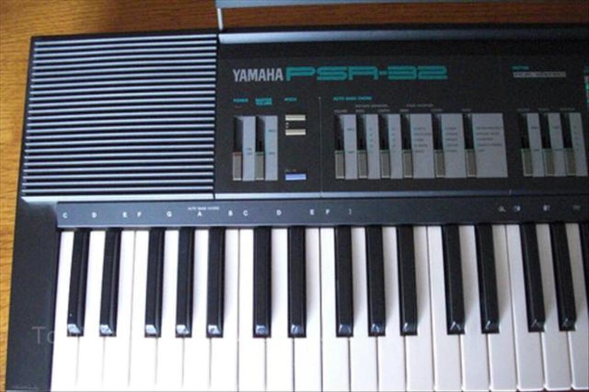Clavier synthétiseur YAMAHA PSR 32 66110568