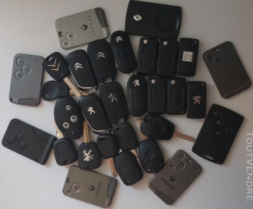 Clé Carte automobiles programmation démarrage verrouillage 643716810