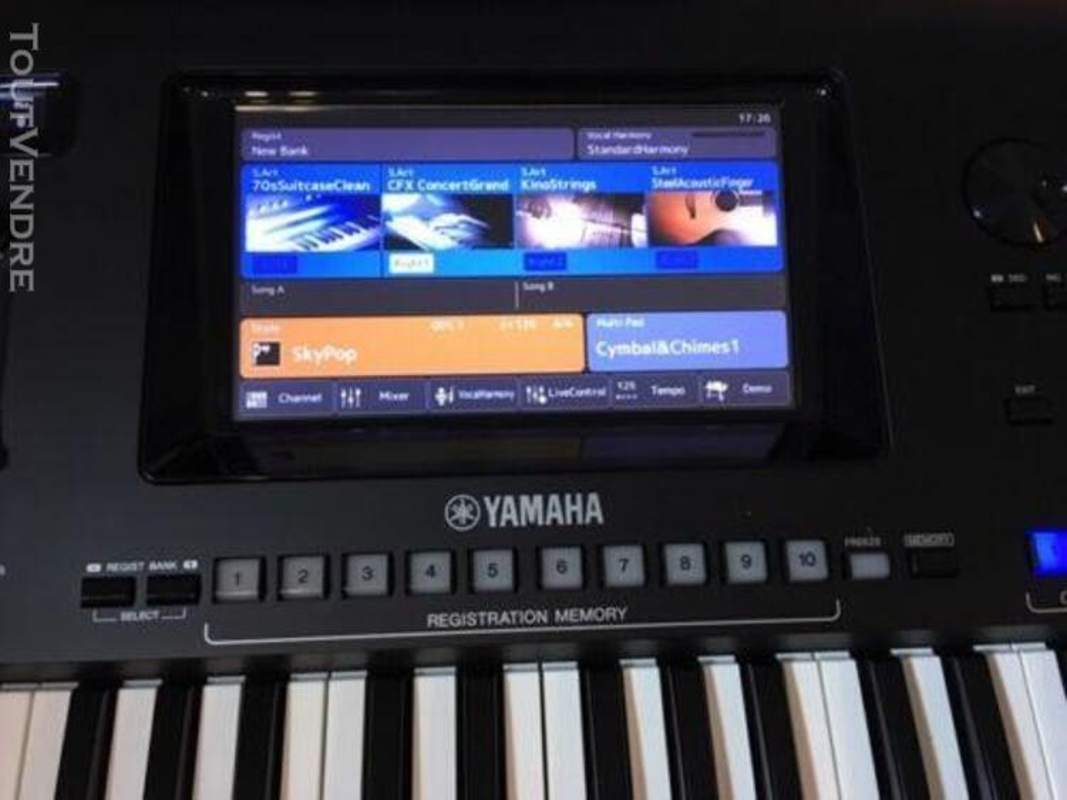 Clé Yamaha Genos 76 - excellent état 472889285